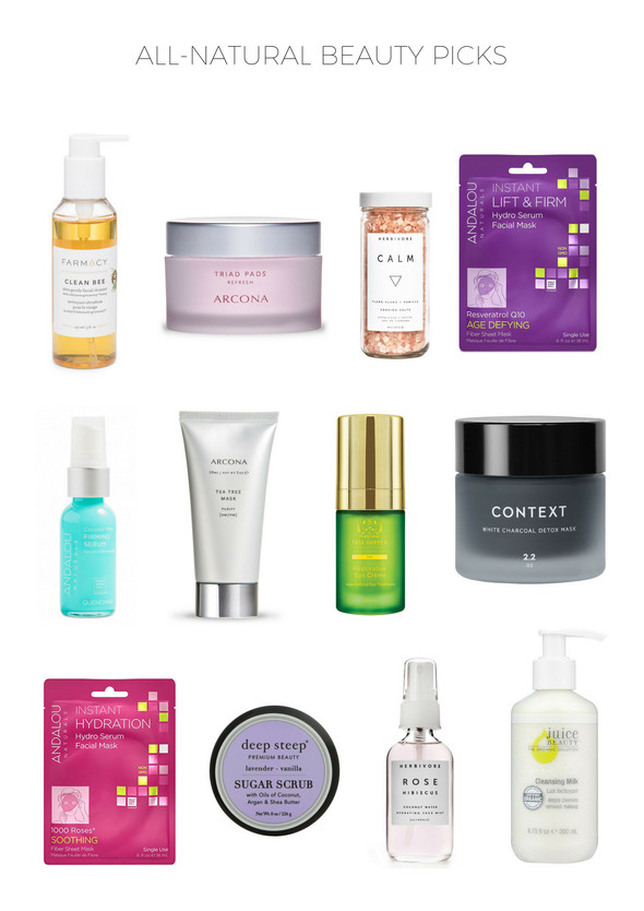 ALL-NATURAL BEAUTY FAVORITES + GIVEAWAY