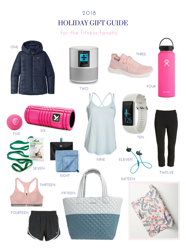 GIFT GUIDE: THE FITNESS FANATIC