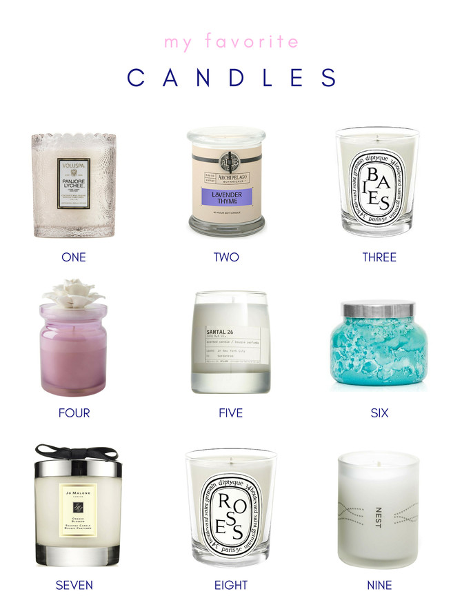 CANDLES TO LIGHTEN THE MOOD