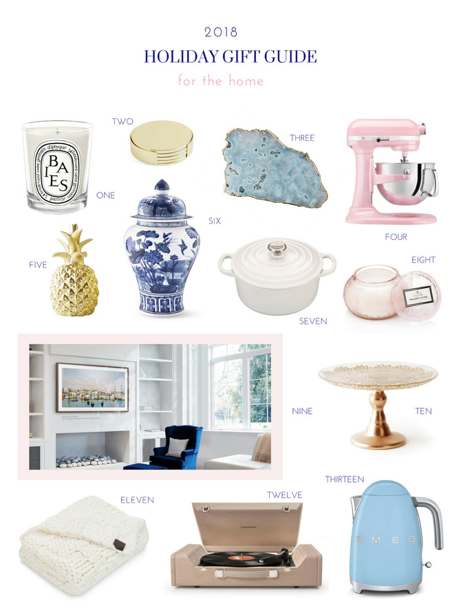 GIFT GUIDE: HOME