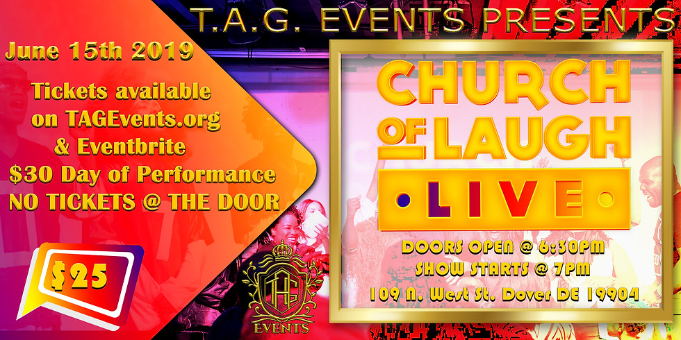 Church of Laugh LIVE!!!
