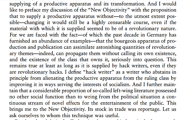 walter benjamin on hack writer review of radical trans poetics anthology