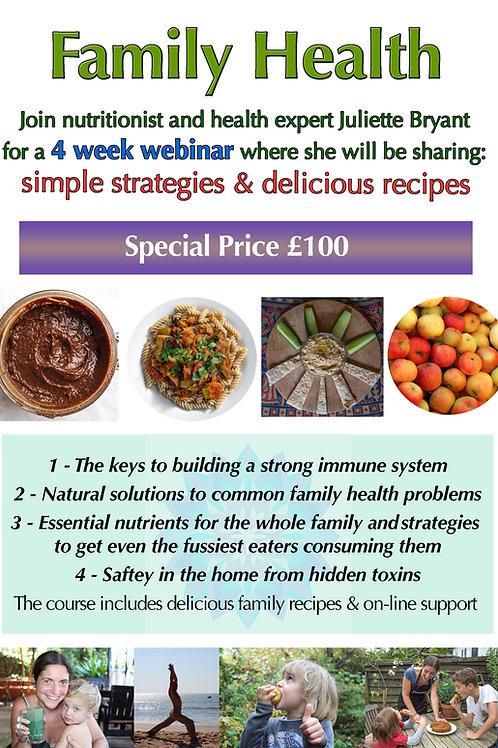 Family Health - 4 week online course