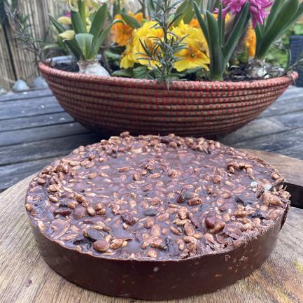 Raw Chocolate Slab