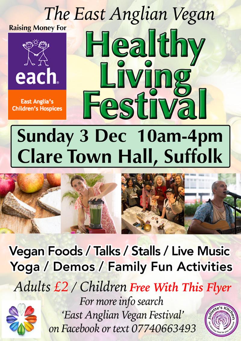 East Anglian Vegan Healthy Living Festival
