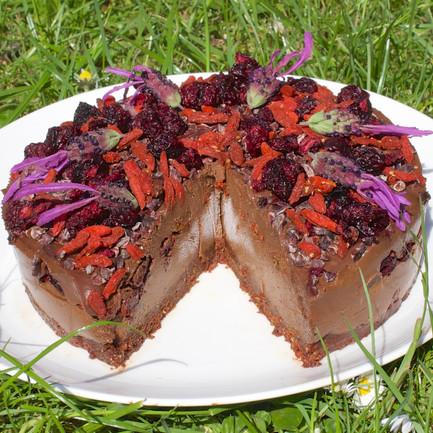 Ecstatic Chocolate Cake - from Divine Dessert