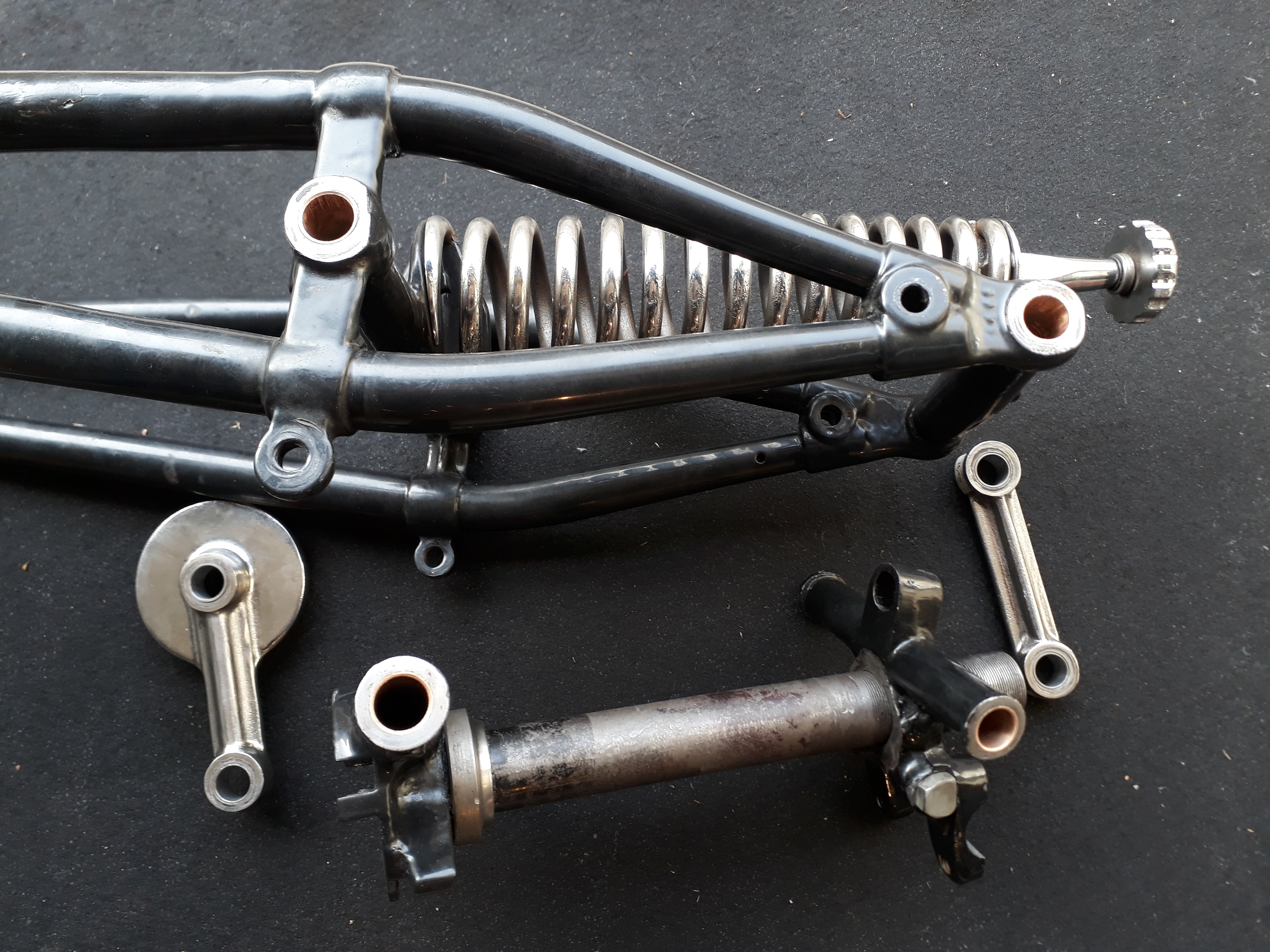 Réparation de fourche moto