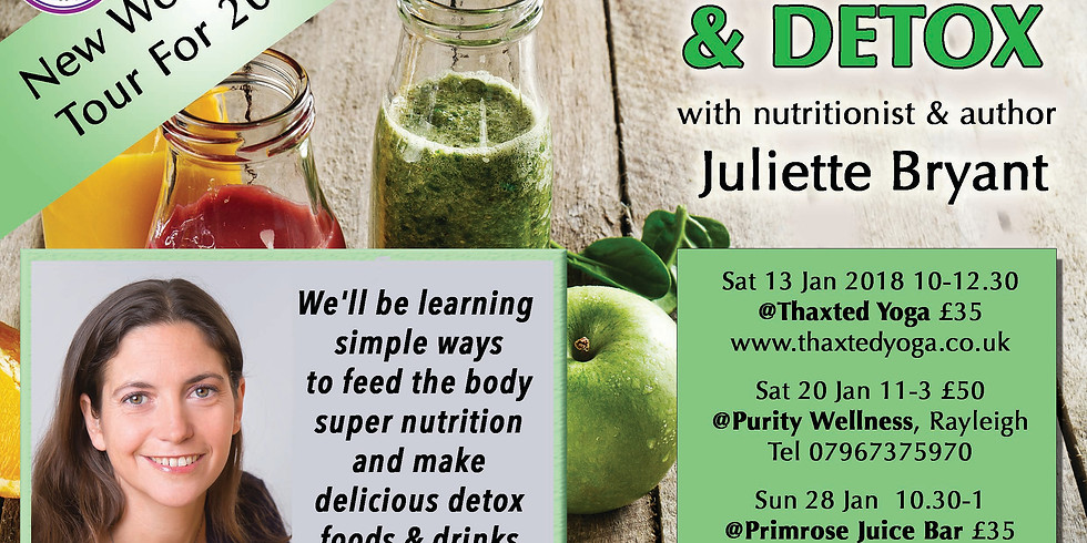 Cleanse and Detox - Primrose Chelmsford