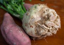 Sweet Potato & Celeriac Mash