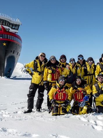 Amundsen landing expedition team