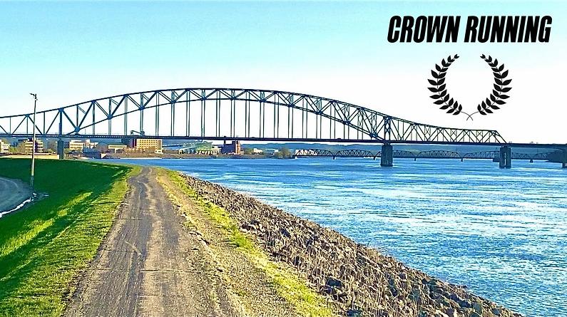 Crown Running's hometown Dubuque, Iowa