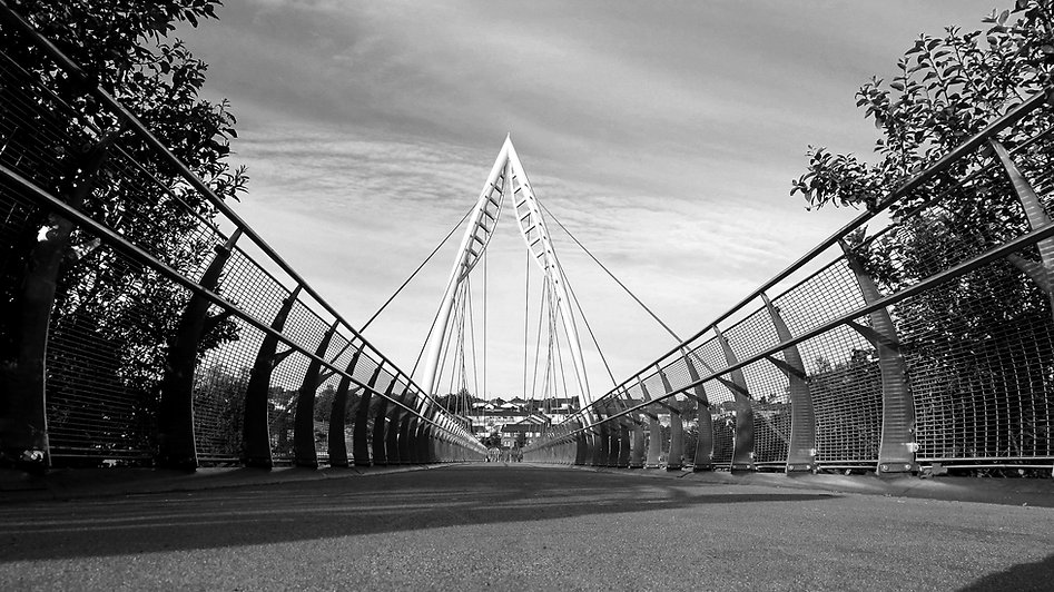 Strabane New Bridge B&W CH