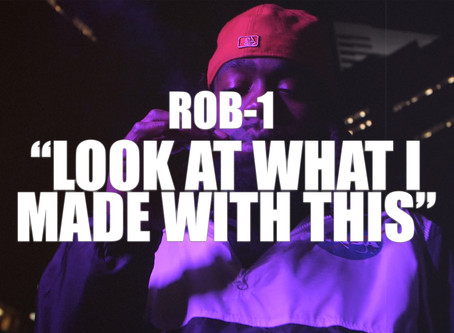 """""""Look at What I Made With This"""" Rob-1 [Official Music Video]"""