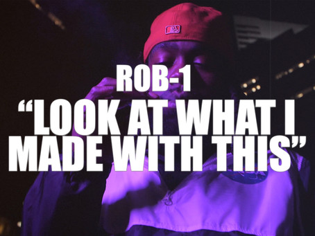 """Look at What I Made With This"" Rob-1 [Official Music Video]"