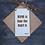 Thumbnail: Doric Door Hanger (Hame is Faar the Hairt is)