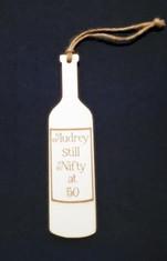 Wine Bottle Plaque