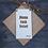 Thumbnail: Doric Door Hanger (Dinna Fash Yersel)
