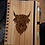 Thumbnail: A5 Bamboo Notebook with Pen (Highland Coo 'Angus')