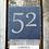 Thumbnail: Slate Tile House Sign (15x15)