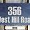 Thumbnail: Slate Tile House Sign (30x15)