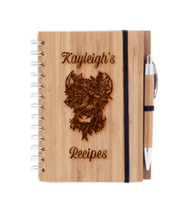 Personalised A5 Wooden Notebook
