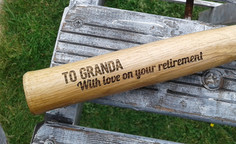 Personalised Wooden Hammer (Close Up)