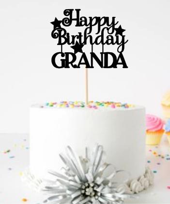 Happy Birthday (Granda/Grandad)