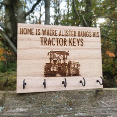 Personalised Key Rack
