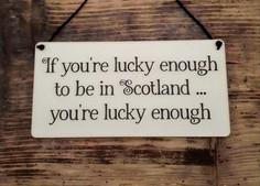 Scotland Plaque