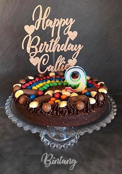 Customised Cake Topper - 12cm