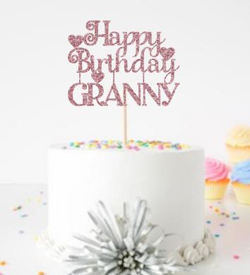 Happy Birthday (Granny/Grandma/Nana)