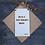 Thumbnail: Doric Door Hanger (We're a' Jock Tamson's Bairns)