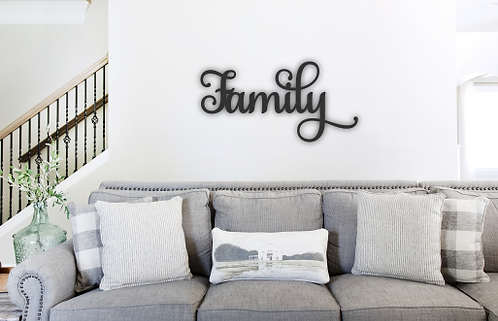 """Wall Sign """"Family"""""""