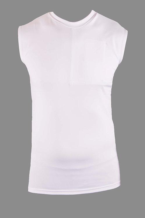 Women's Left-Sided Sleeveless Shirt