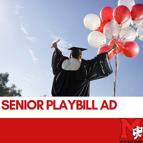 Senior Playbill Ad 2021