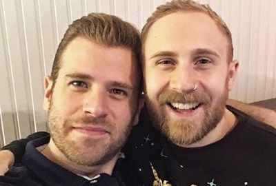 Scott-Evans-with-his-boyfriend-Zach-Voli