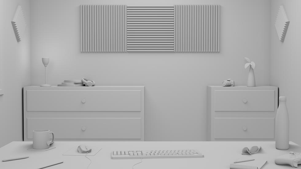 modélisation 3d d'une chambre