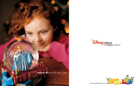 Disney Store Global Holiday Advertising