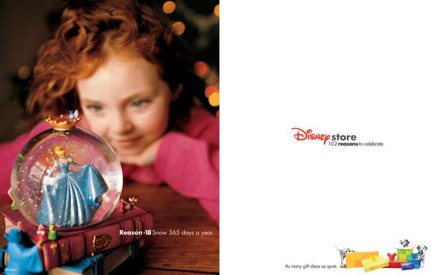 Disney Store Global Holiday Advertising