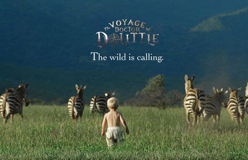 The Voyage of Dr Dolittle: Branding: Branding explorations for film realease.