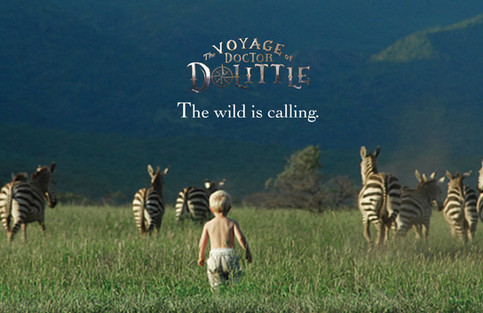 The Voyage of Dr Dolittle: Branding: Branding explorations for film realease.
