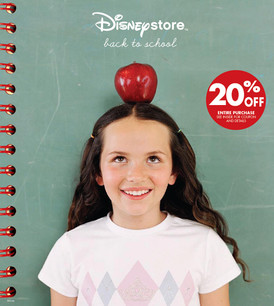 Disney Store: Back To School
