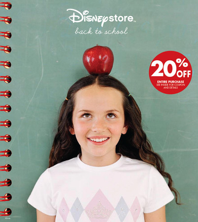 Disney Store: Back To School