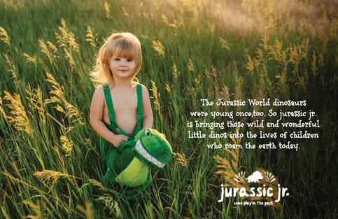 Jurassic World: Baby And Toddler Branding