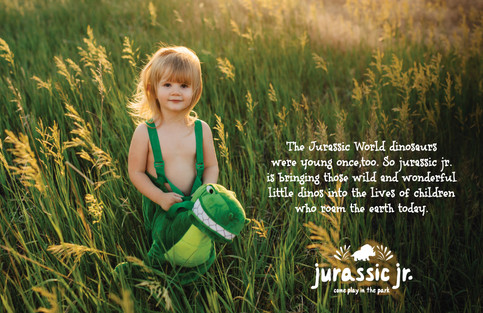 Jurassic World: Baby And Toddler Branding