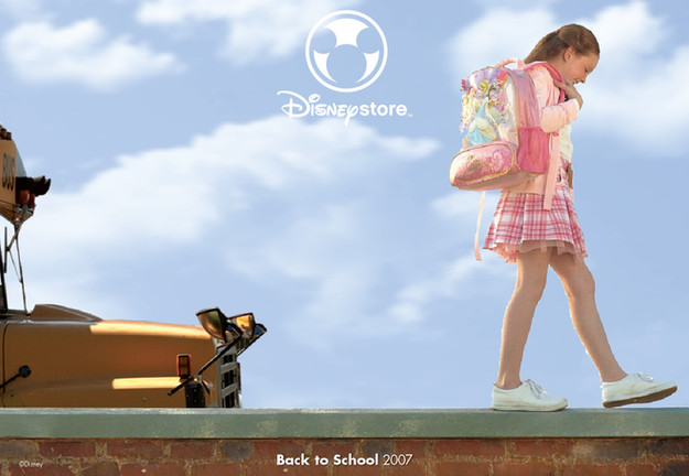 Disney Store Back to School