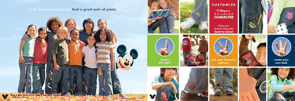 Disney Store: Back To School again! Catalog for stores