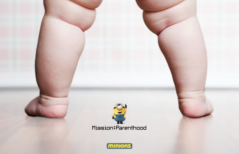 Illumination x Minion Baby