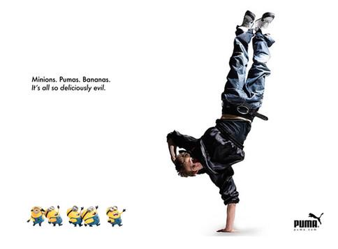 Puma x Universal Advertising concepts