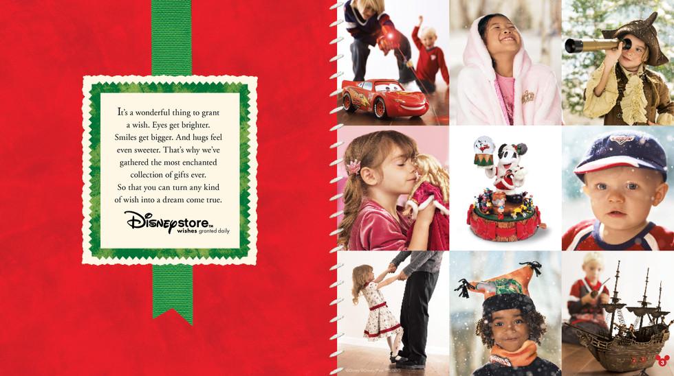 Disney Store Holiday Catalog